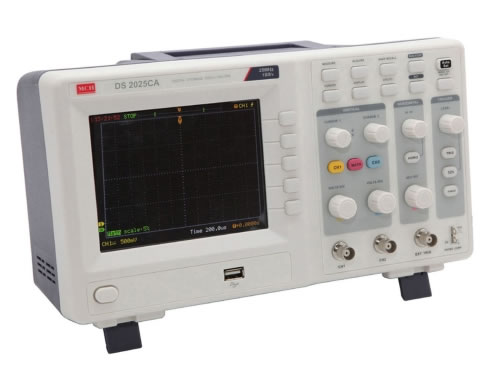 25 MHz Digital Storage Oscilloscope