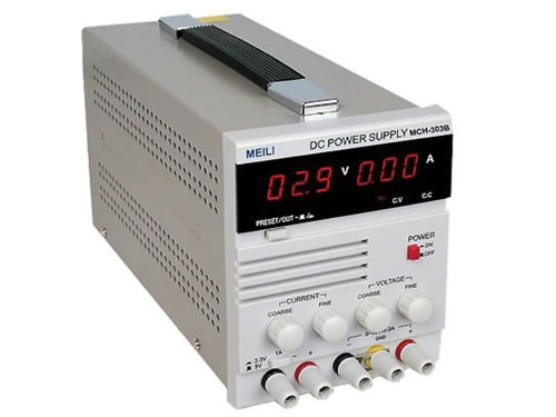 Single Output Linear Power Supply (0-30V/0-3A)