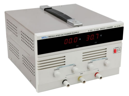 Single Output Linear Power Supply (0-30V/0-10A)
