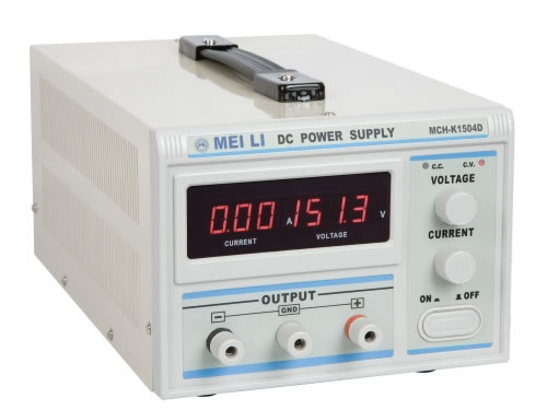 Single Output Switching Mode Power Supply (0-150V/0-4A)