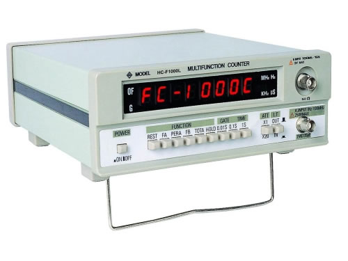1.3 GHz Frequency Counter